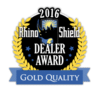2016 Rhino Shield Gold Quality Award