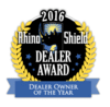 2016 Rhino Shield Dealer Owner of the Year