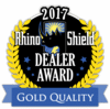 2017 Rhino Shield Gold Quality Award