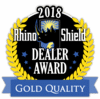 2018 Rhino Shield Gold Quality Award