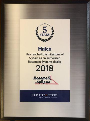 2018 Basement Systems Dealer