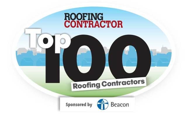 Roofing Contractor Top 100 - 2018