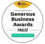 Generous Business Awards Finalist 2019