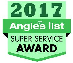 Angie's List Super Service Award, 2017