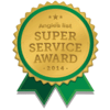 Angie's List Super Service Award, 2014