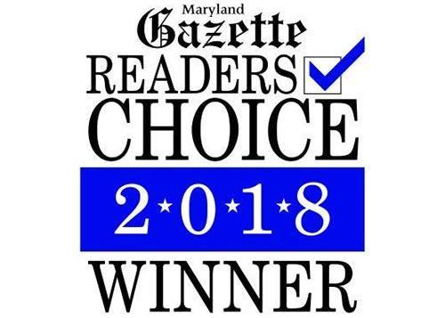 Maryland Gazette's Reader's Choice Builder of the Year Winner
