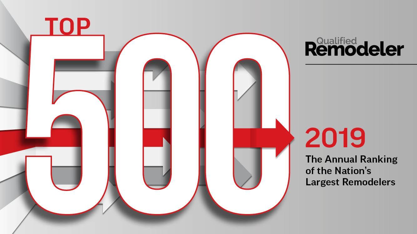 Top 500 - Qualified Remodeler 2019