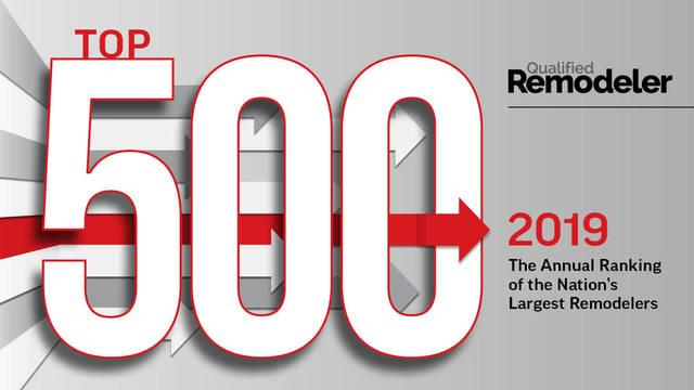 Top 500 - Qualified Remodeler 2019