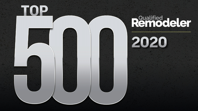 Top 500 - Qualified Remodeler 2020