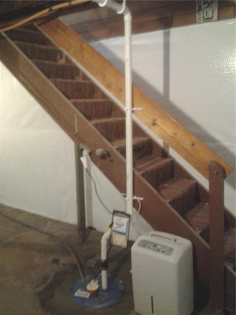 Sump Pump Installation in Troy, NY - After Photo