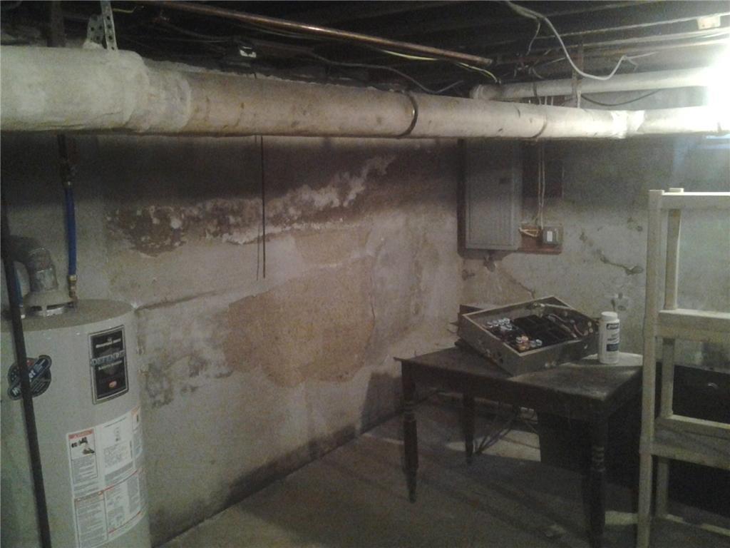 Basement Encapsulation & Dehumidification in Albany, NY - Before Photo