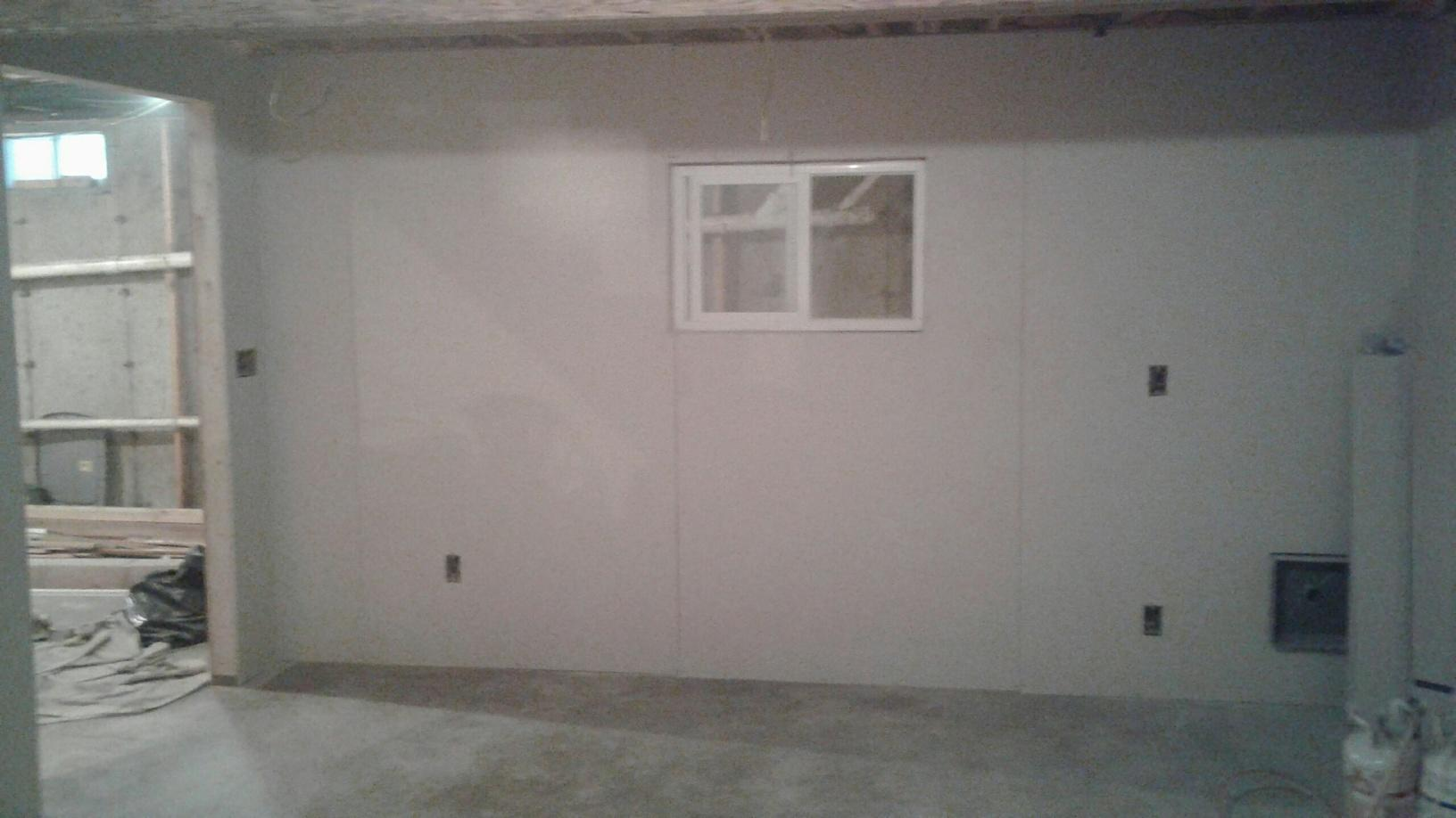 Basement Wall Installation in Porters Corners, NY - After Photo