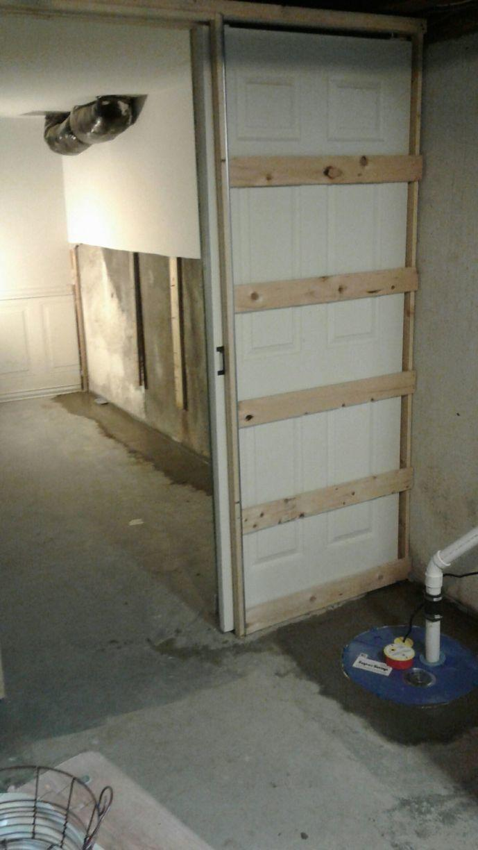 Basement Waterproofing in Schenectady, New York - After Photo