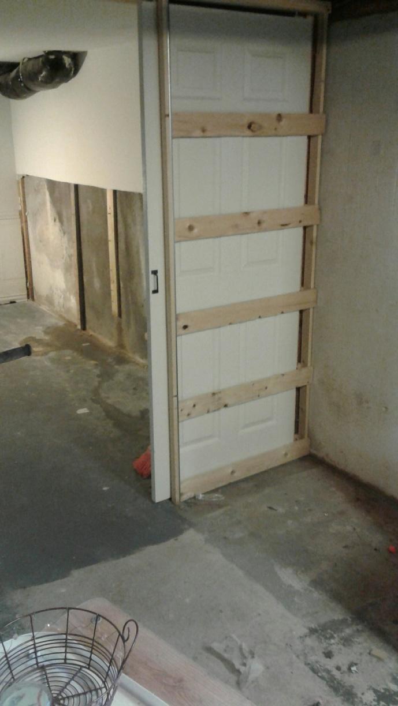 Basement Waterproofing in Schenectady, New York - Before Photo