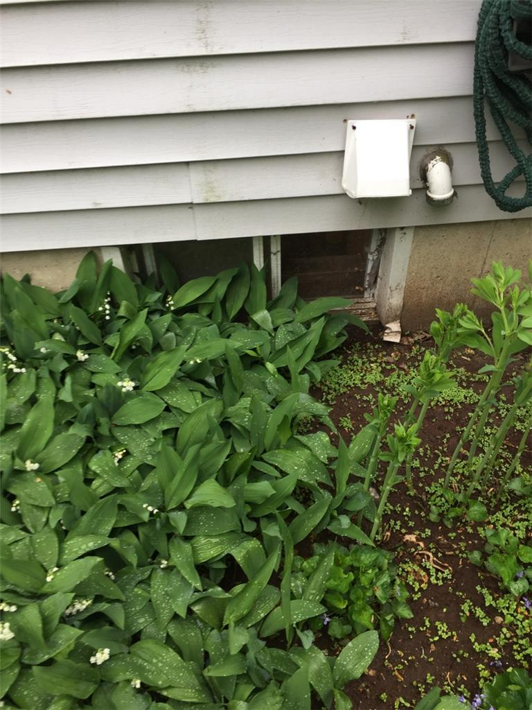 SunHouse Window Well and EverLast Window Replacement in Ballston Spa, NY - Before Photo