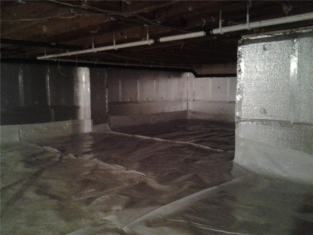 Crawlspace Encapsulation in Haines Falls, NY - After Photo