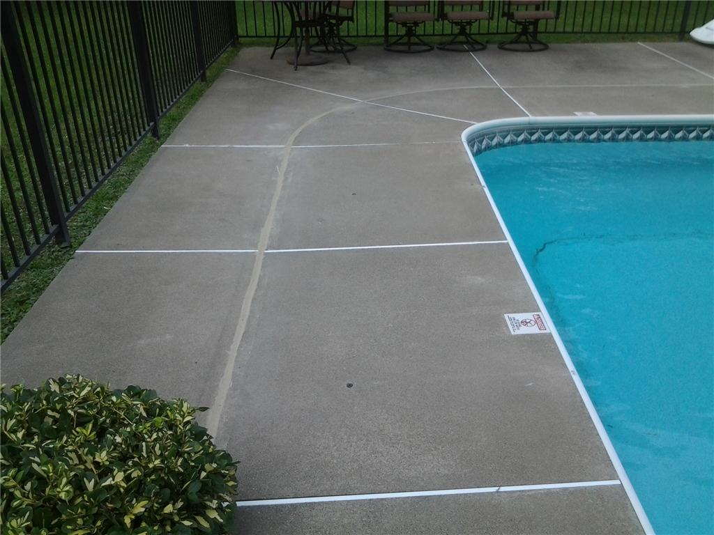 Leveling a Pool Patio in Delmar, NY - After Photo