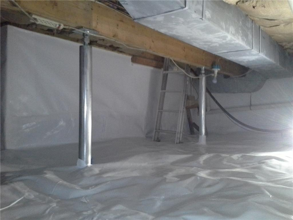 Crawlspace Repair in Waterford, NY - After Photo