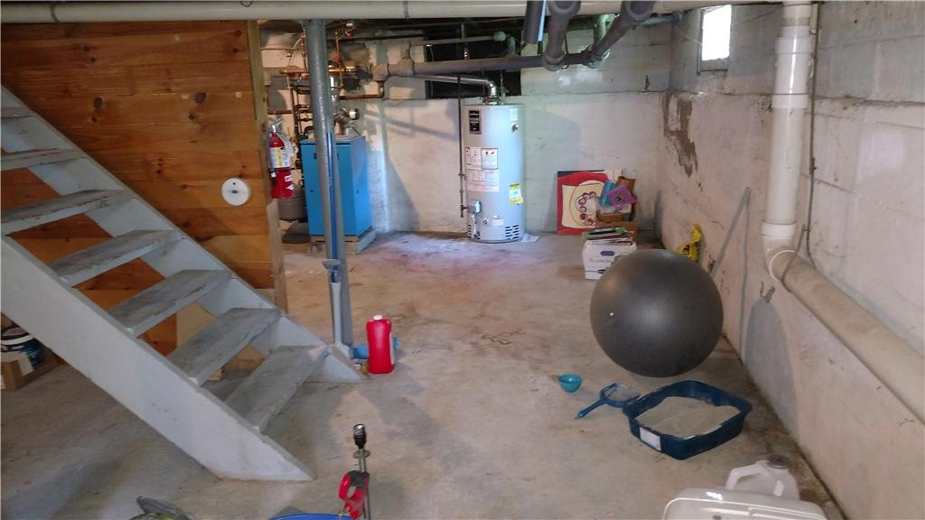 Transforming a Basement into a Usable Space in Delmar, NY - Before Photo