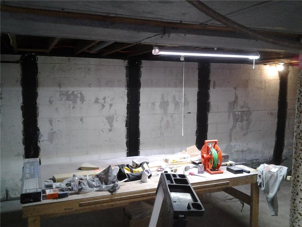 Carbon Armor Wall Supports in Schenectady, NY - After Photo