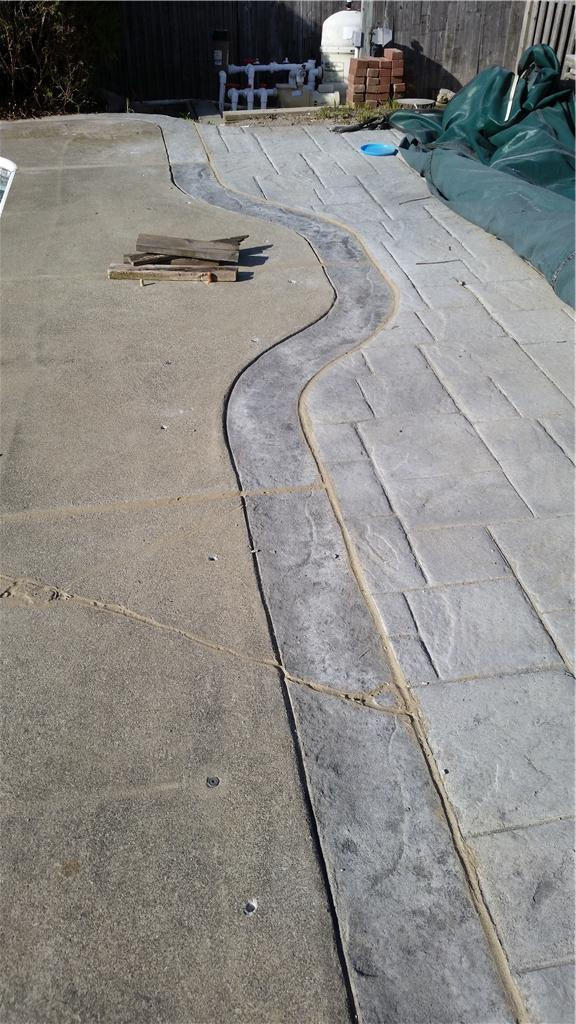 Pool Deck Repair in Latham, NY - After Photo