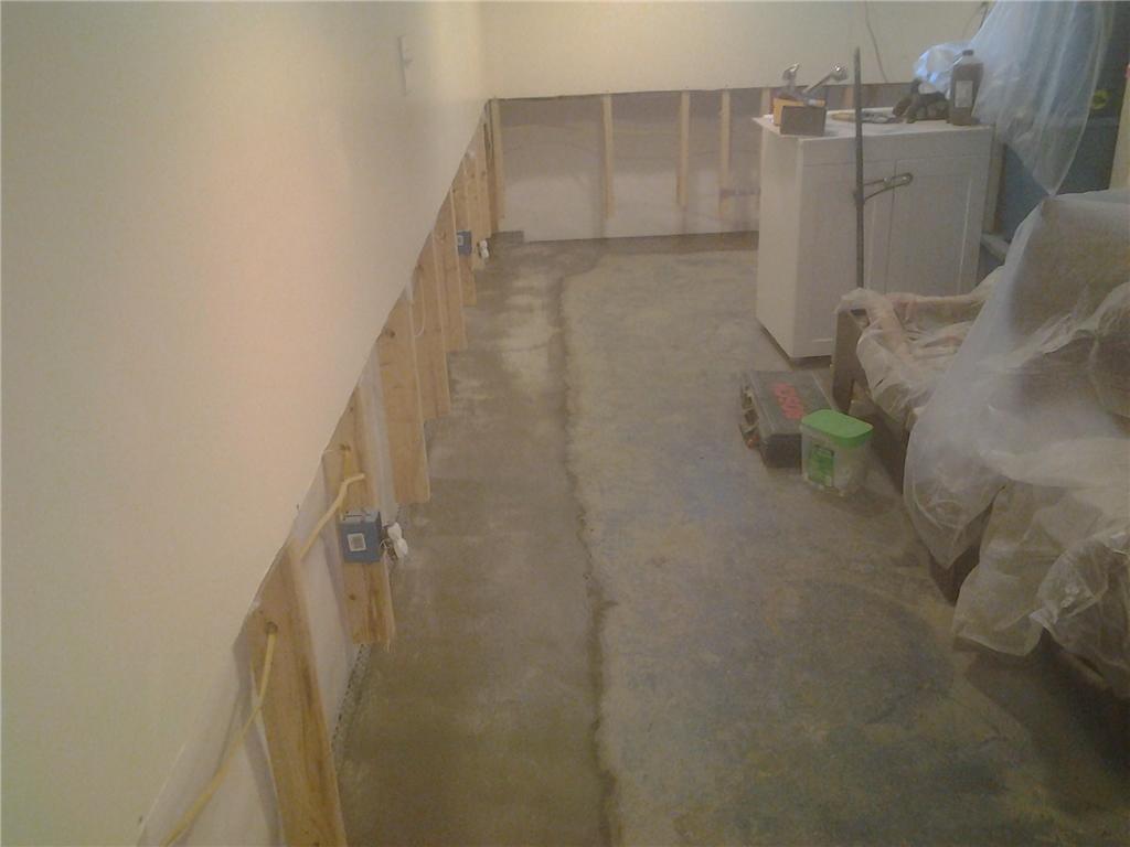 Drywall Repair in Colonie, NY - Before Photo