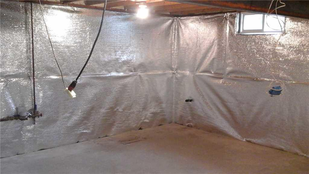 Insulating a Crawlspace in Voorheesville, NY - After Photo