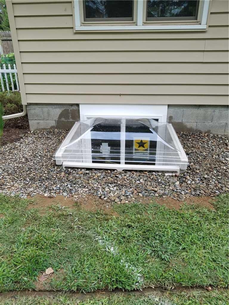 Scapewel Basement Window Installation in Albany, New York - After Photo