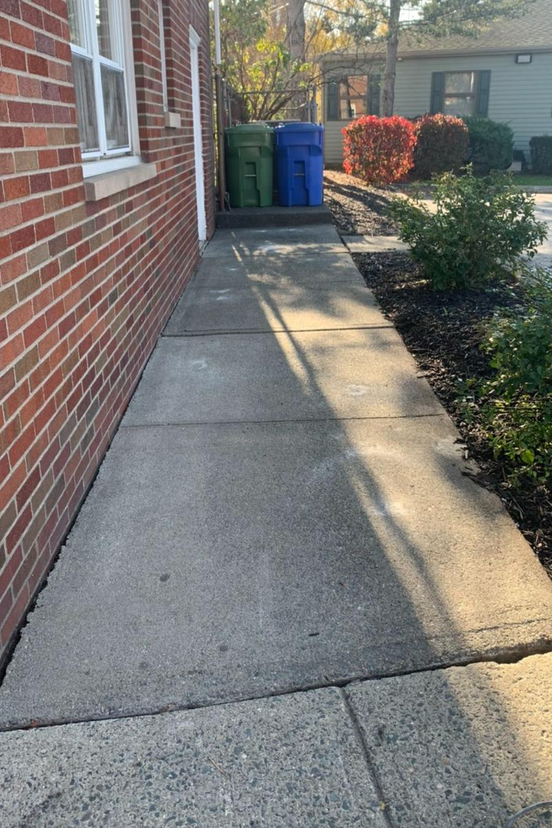 Sidewalk Repair in Cohoes - After Photo