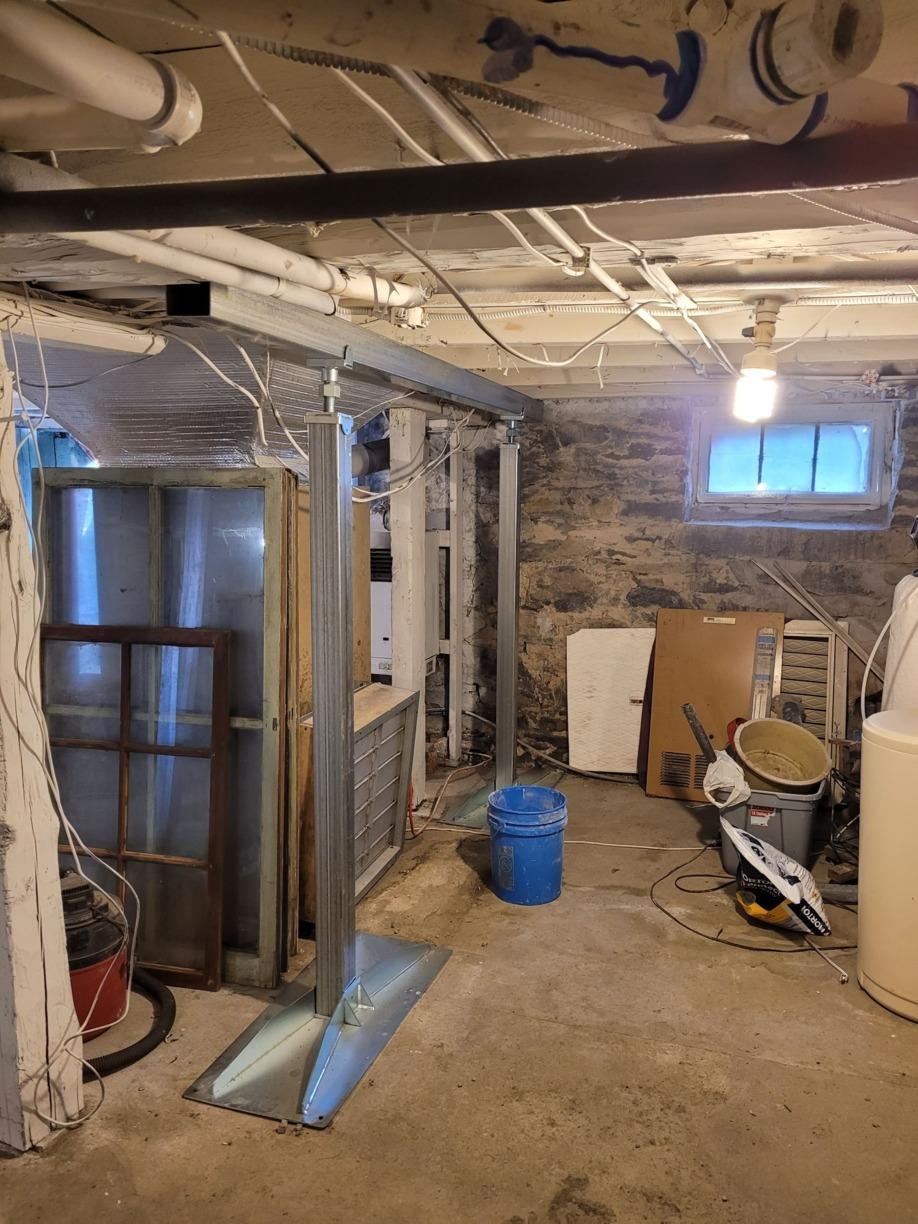SmartJacks Basement Installation in New Baltimore, NY - After Photo