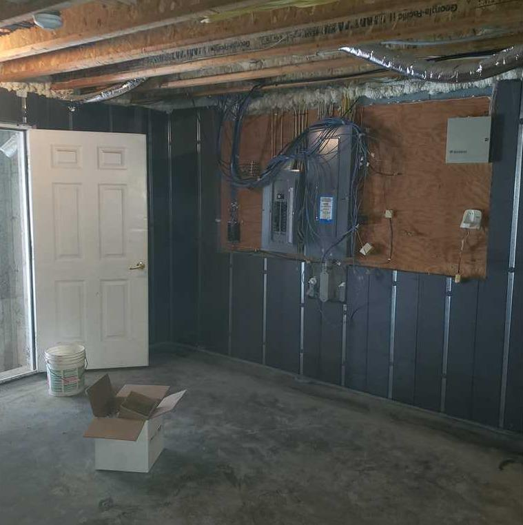 Basement to Beautiful Installation in Richmondville, NY - After Photo