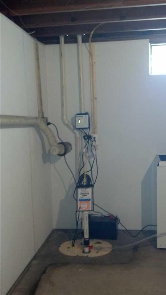 TripleSafe Sump Pump - After Photo
