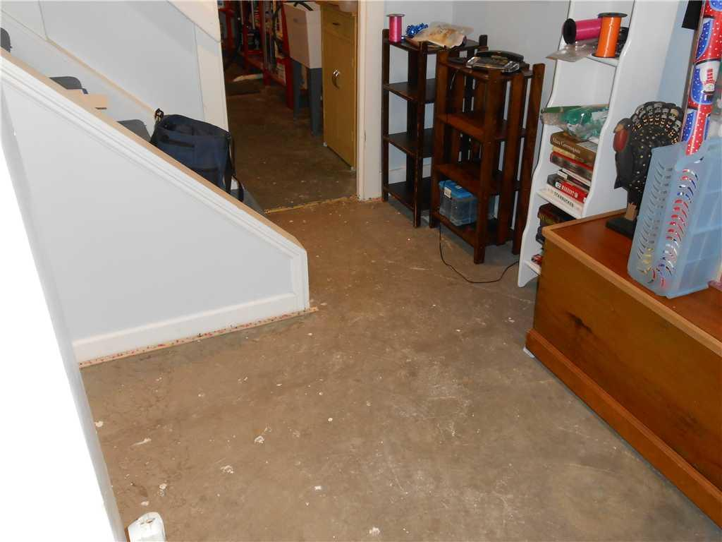 Thermal Dry Flooring in Schenectady, NY - Before Photo