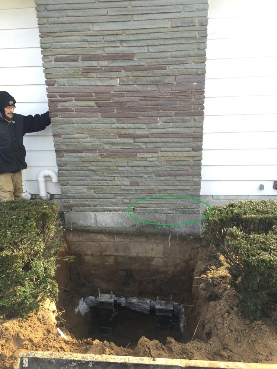 Helical Pier Installation in Albany, NY  - After Photo