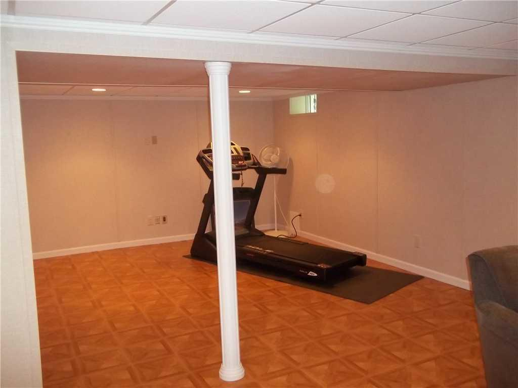 Basement Finished in Gloversville, NY - After Photo
