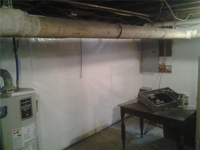 Basement Encapsulation & Dehumidification in Albany, NY - After Photo