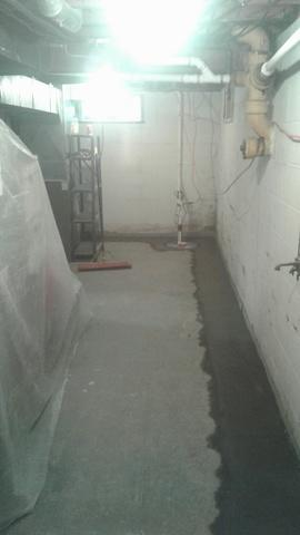 Basement Waterproofing in Glenville, New York - After Photo