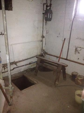 SuperSump Installation in Schenectady, NY - Before Photo