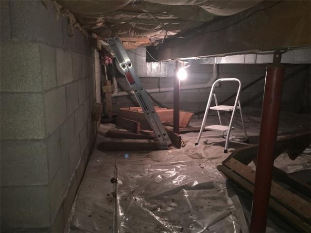 Crawlspace Repair in Waterford, NY
