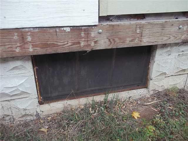 New Basement Windows in Albany, NY - Before Photo