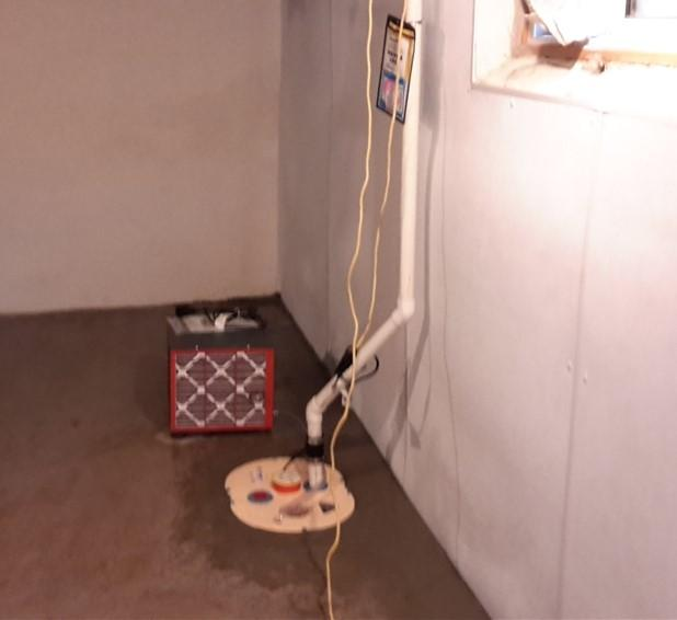 A Healthy and Dry Basement in London, ON - After Photo