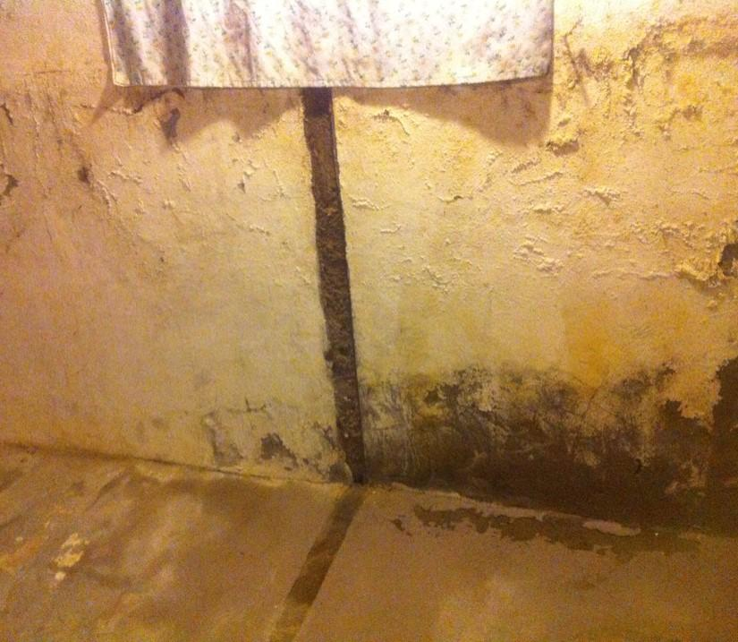 A Healthy and Dry Basement in London, ON - Before Photo