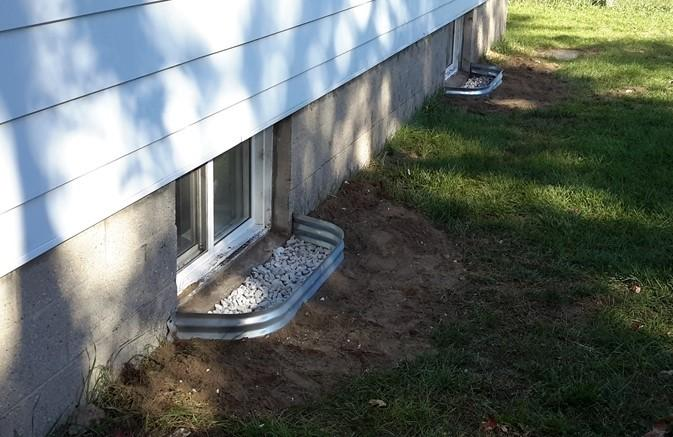 Window Well Installation in Strattfordville, ON - After Photo