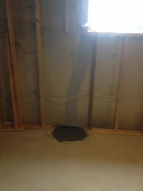 Foundation Crack Repair in London, ONT - After Photo