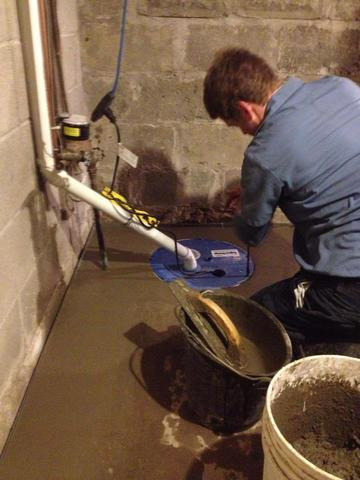 Basement Sump Pump in Chatham, ON