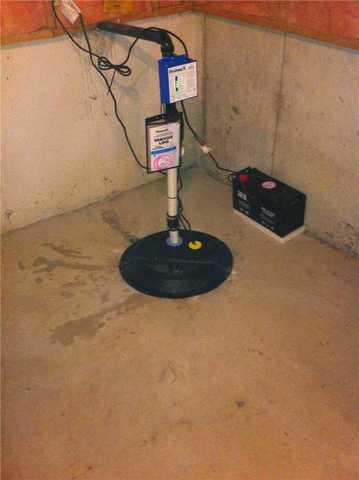 Sump Pump Upgrade Belle River, ON