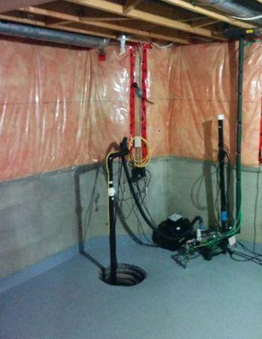 Basement Waterproofing and Sump Pump, Windsor ON