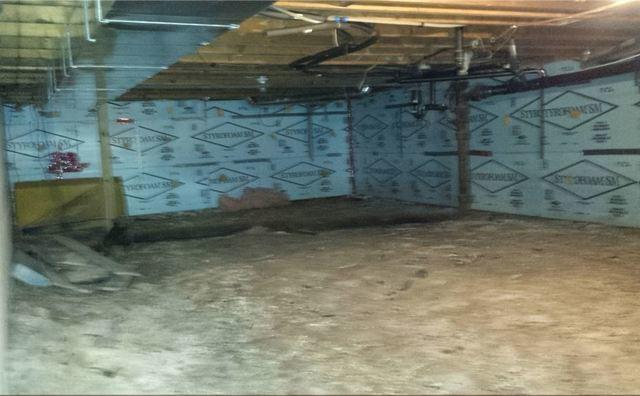 Clean and Dry Crawl Space, London ON