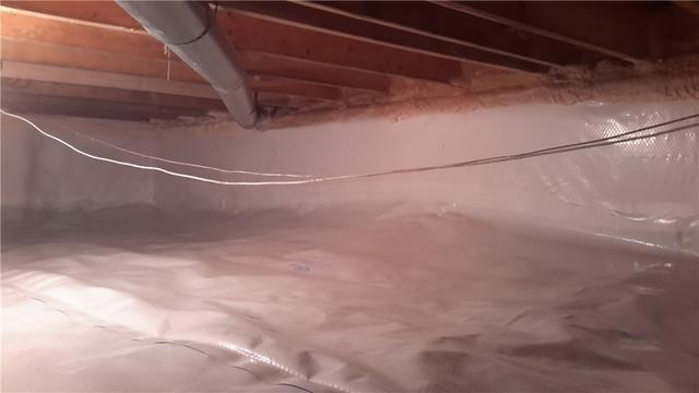 Damp Crawl Space Fixed in Tecumseh ON