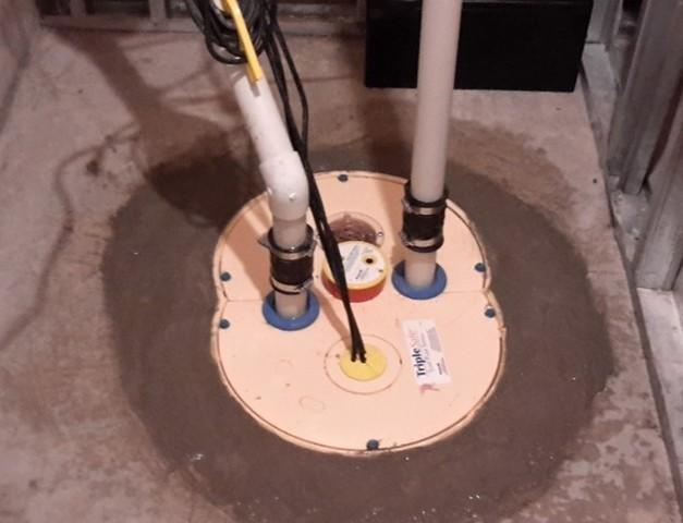 Sump Pump Update in Windsor, ON